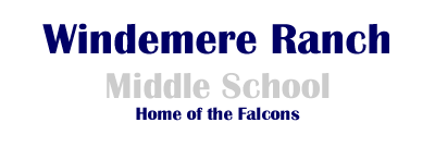Windemere Ranch Middle School  Logo